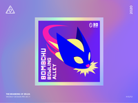 The Branding of Zelda: Bombchu Bowling Alley Holographic Sticker