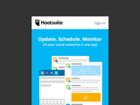 Hootsuite Mobile Home Page