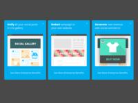 Hootsuite Freemium Campaigns Illustrations