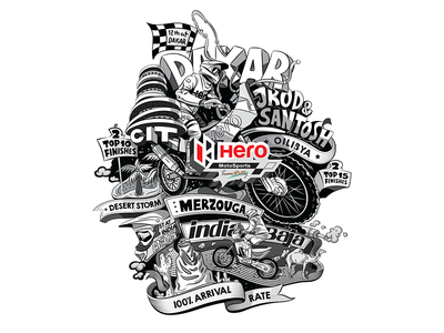 Illustration - Hero Motosports