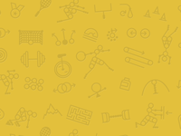 Joggle icons pattern