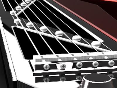 Shifter (Guitar) guitar 3d