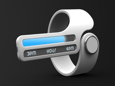 Perspective Timepiece Interface Detail 3d product industrial design rendering photoshop watch timepiece