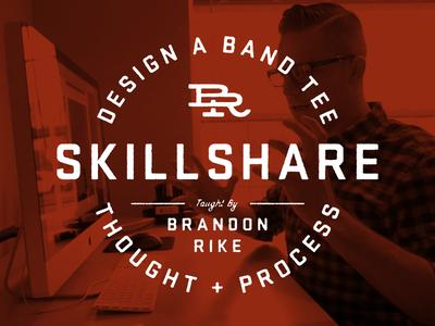 My Skillshare Class skillshare class design band tee merch shirts apparel process work office