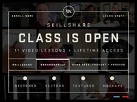Class Is Open!
