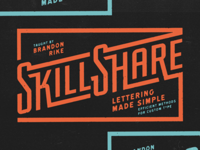 Skillshare: Lettering Made Simple