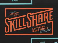 Skillshare: Lettering Made Simple