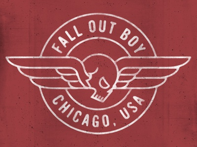 Fall Out Badge