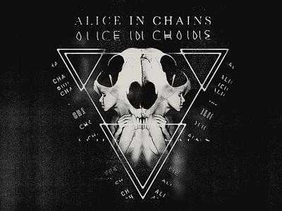 Alice Tri-Cell merch apparel design graphic tee rock t-shirt dark alice chains metal merchandise