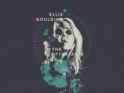 Ellie Skull dark evil skull goulding ellie design merchandise band music apparel graphic merch