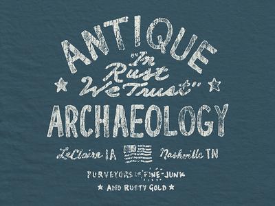 Picker Vintage nashville merch apparel drawn hand draw archaeology antique vintage pickers american