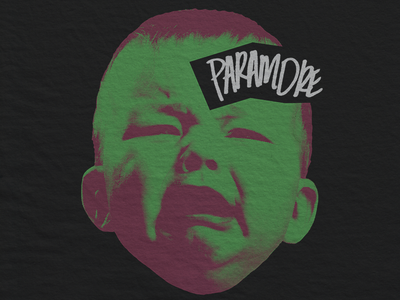 Crybaby vintage rock punk apparel merch crybaby paramore
