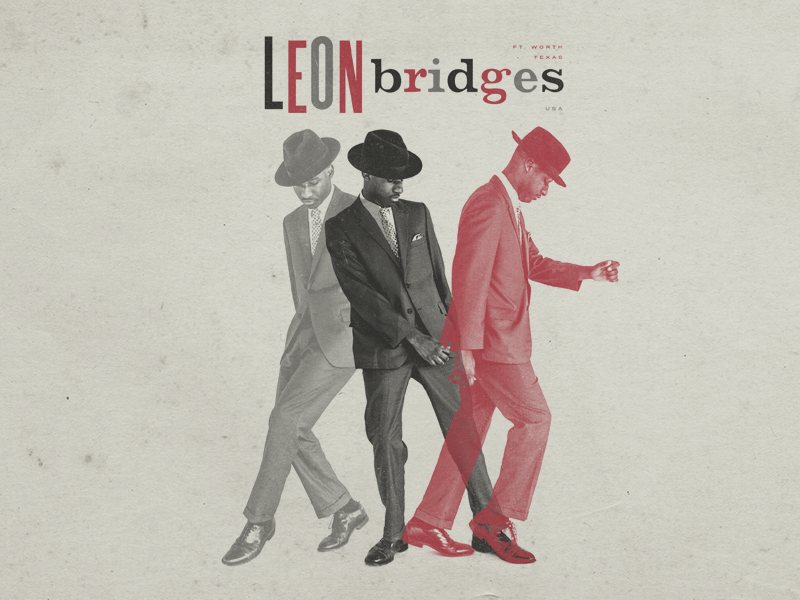 Leon Smooth tabloid dance poster jazz vintage bridges leon