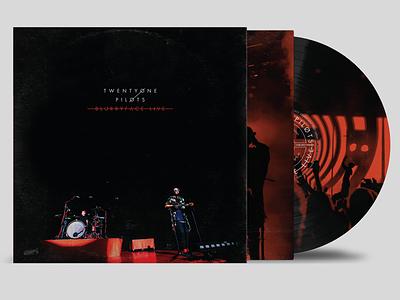 Blurryface Live Vinyl music packaging layout pilots one twenty vinyl live blurryface