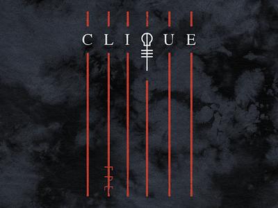 TØP Clique Lines simple linear dark topic skeleton clique merch top pilots one twenty