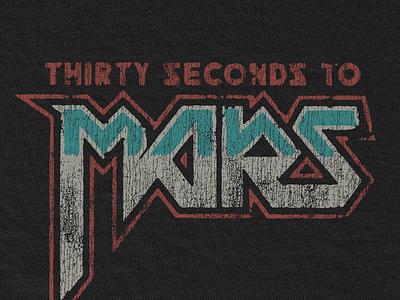 MARS Rock leto jared rock classic vintage mars seconds thirty merch
