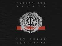 TØP Rose fpe clique skeleton merch minimal rose pilots one twenty