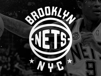 Nets Redo nets new jersey brooklyn logo basketball contino stars classic vintage retro