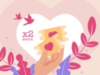 Valentine's Day gifts: 2 Dribbble invites