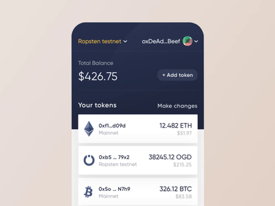 OnGrid Systems WAT crypto wallet - Transition