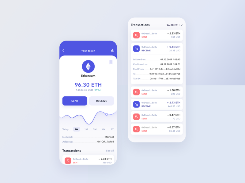 Crypto wallet 3.0 fintech transactions crypto wallet ethereum bitcoin token banking mobile money interface app card
