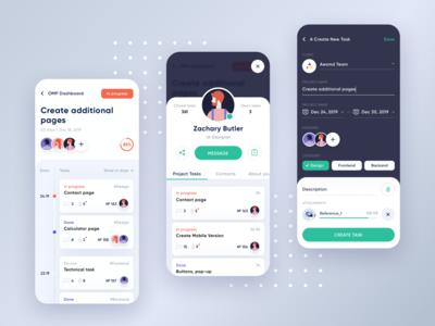 Project Management App Concept 2
