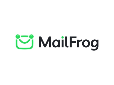 MailFrog Logo redesign mark service green frog icon logo mail email