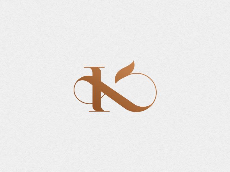 K x Ampersand monogram monogram mark brand logo luxury ampersand k