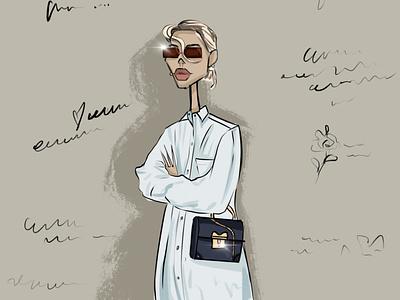 fashion Style person fashion design girl character illustrator illustration