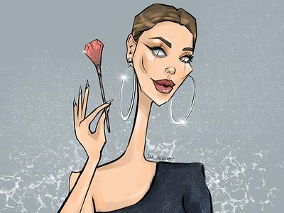 make-up artist make-up artist person fashion design girl character illustrator illustration