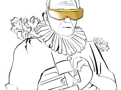 Grandpa grandpa person fashion design character illustrator illustration
