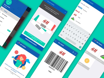 My Cards - App feature