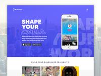 Landing page - App