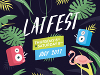 Latfest poster