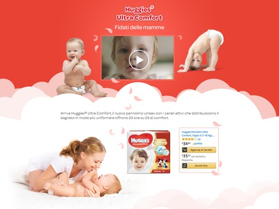 Huggies Ultra Comfort Advert concept