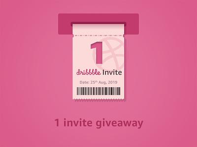 Dribbble invite dribbble draft draft inivite illustrator graphic illustraion giveaway invitation freebies daily ui dribbble invitation dribbble dribbble invite