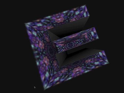 3D Alphabet Kaleidoscope - css animation development design patterns 3d mouseover js css animation animation css3 html 5