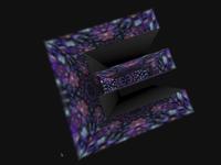 3D Alphabet Kaleidoscope - css animation