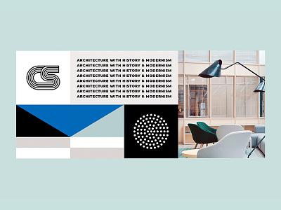 Minimal Styling shapes minimal modern workup visual identity branding