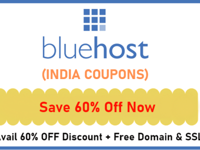 Best Bluehost India Coupon Offers bluehost india coupons bluehost india coupons