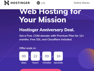 Hostinger Anniversary SPECIAL Offer hostinger anniversary deal hostinger anniversary deal