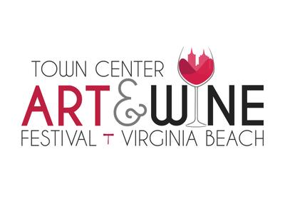 Town Center Art & Wine Festival Logo