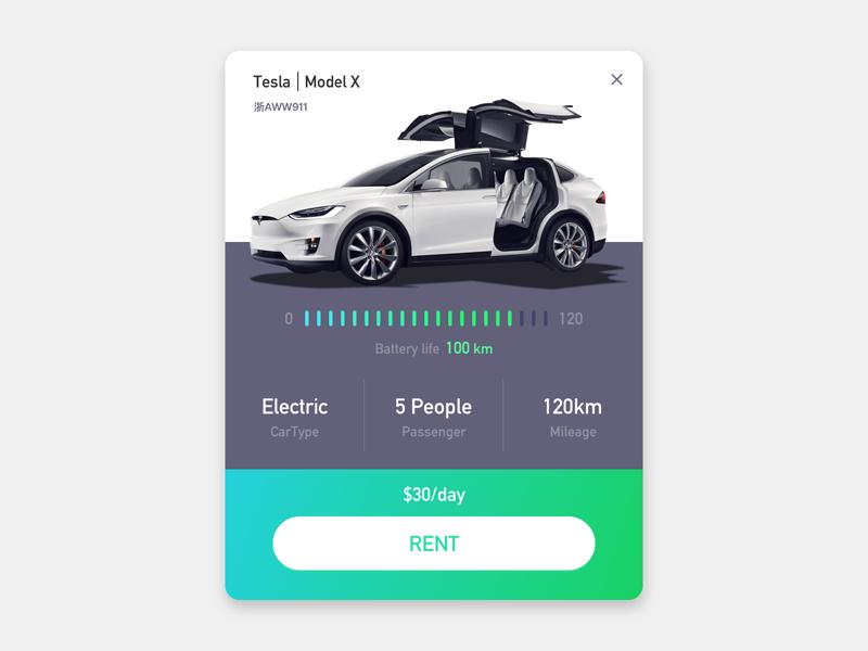 Tesla Rent rent car electric tesla