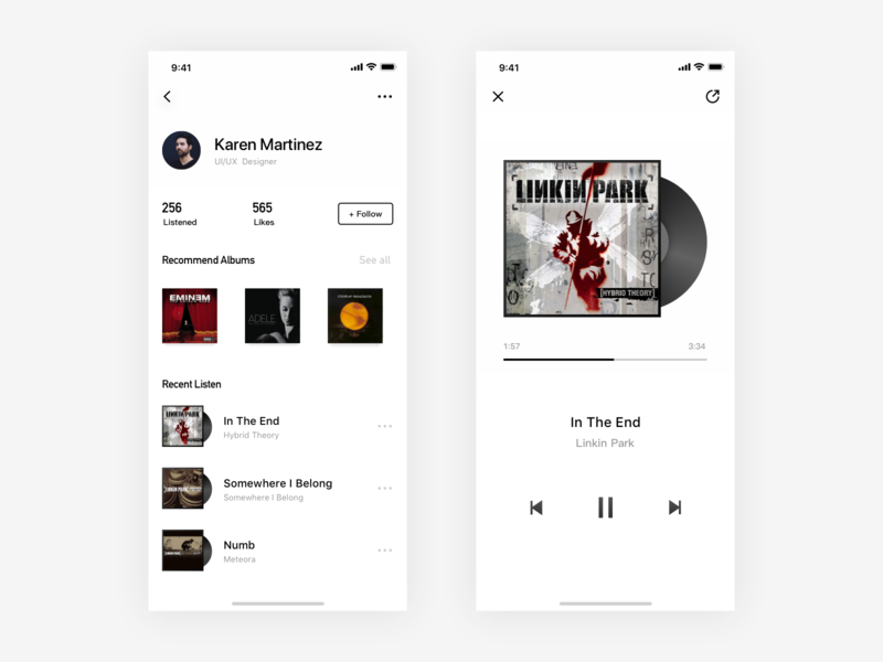 Music Player app music app
