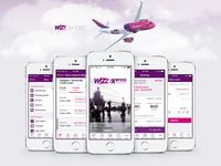 Wizz Air app iOS 7