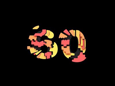 Digit 60 digit number 60 practice