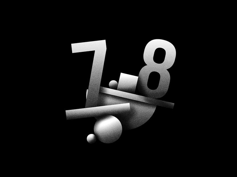 Digit 78 practice bw 78 number digit