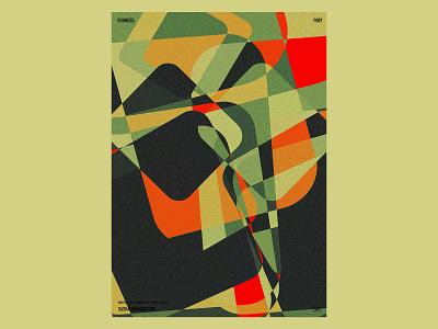 P009 graphic print poster illustration design practice