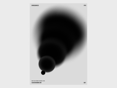 P010 abstract bw design poster graphic design printer practice