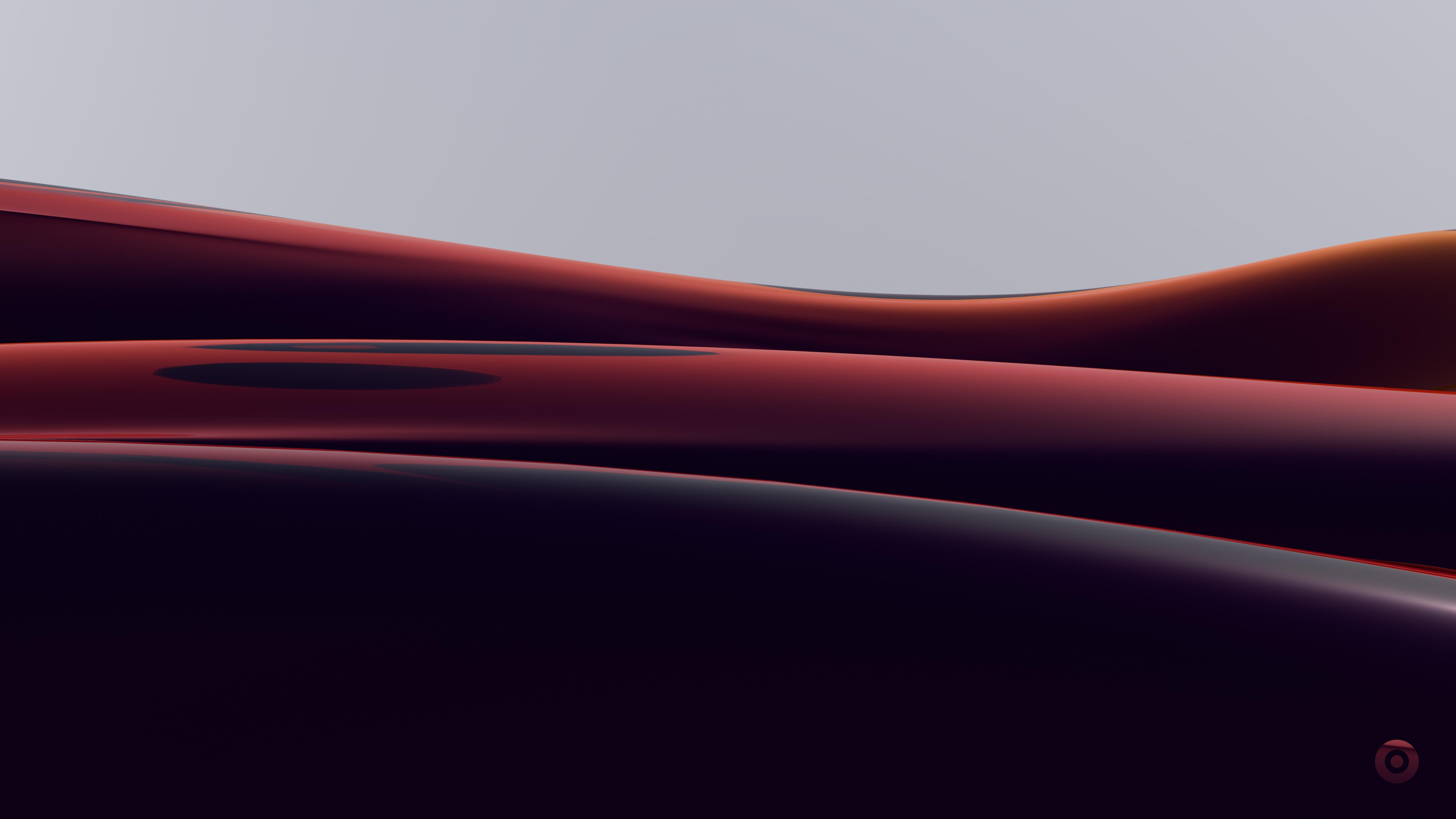 Glass waves wallpaper 5120